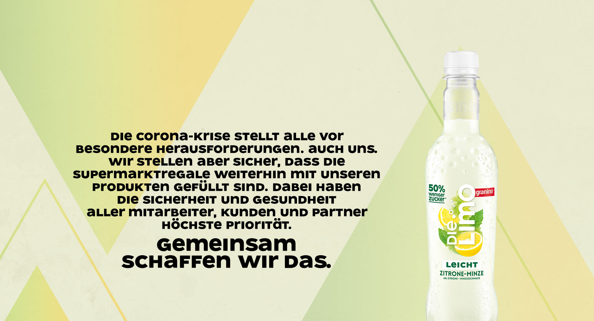 Corona Statement Bild